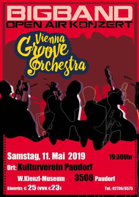 Plakat Big Band Open Air Konzert